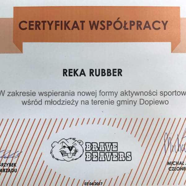 Reka Rubber Polska sponsorem