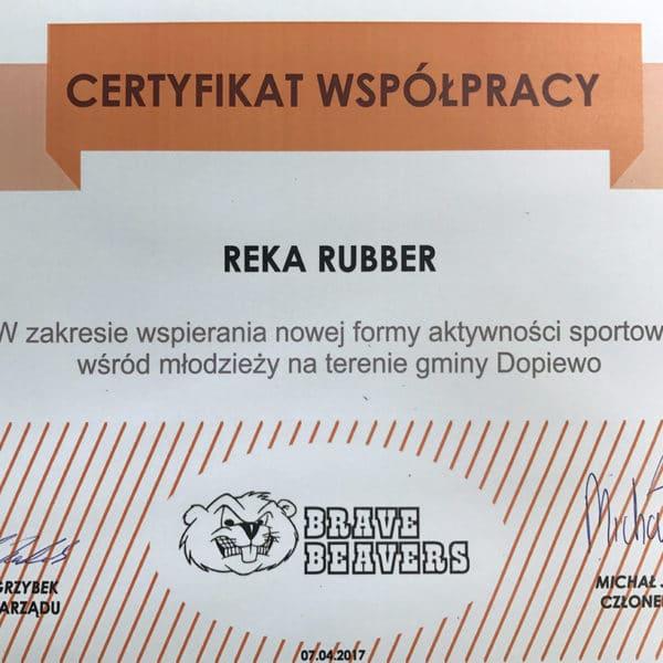 Reka Rubber Polska sponsorem